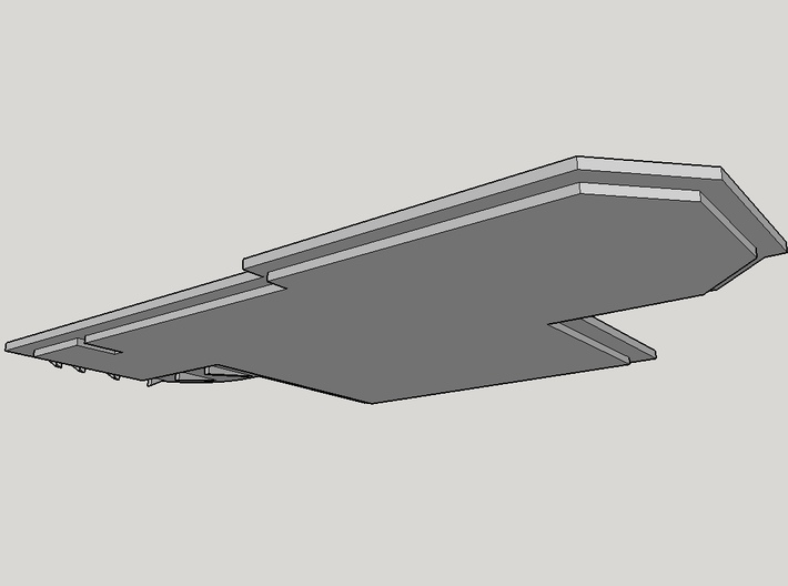 Superstructure L3 Roof 3d printed
