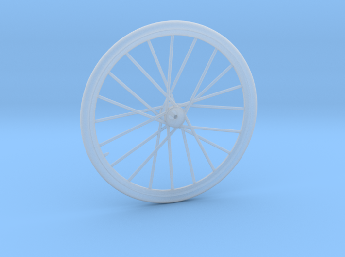 1/18 bicycle wheel 3d printed