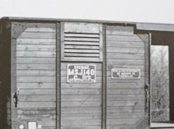 G1 väggventil utan glas 3d printed Foto från Sveriges Järnvägsmuseums samlingar