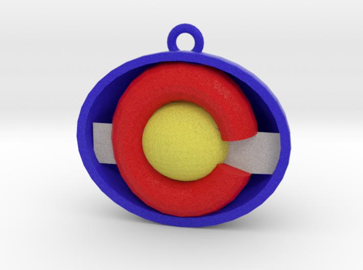 colorado Ornament 3d printed