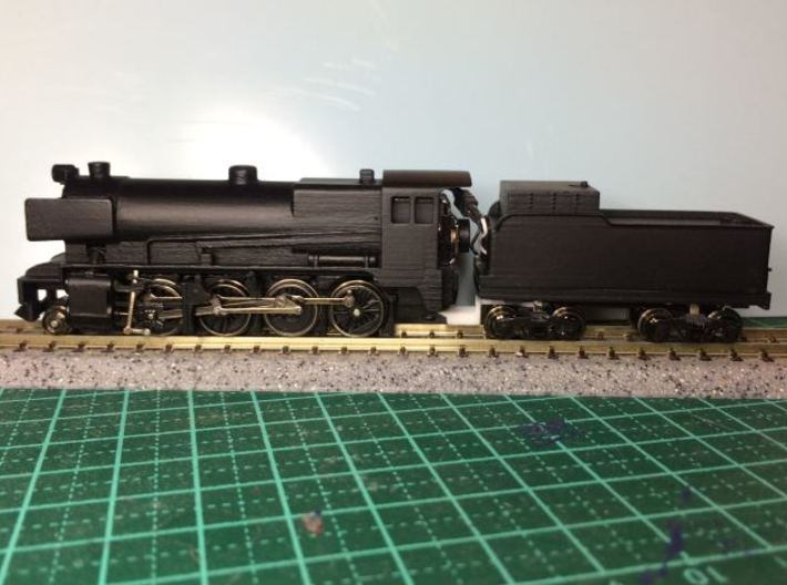 Victorian Railways C Class Steam Loco - N Scale 3d printed test Print