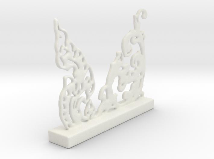 Freeform Oriental Pattern 3d printed