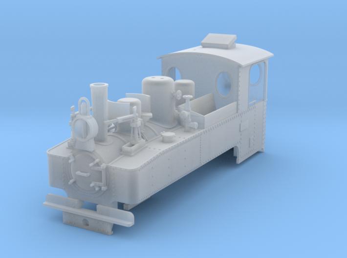 Feldbahn brigadelok ADAPTED 3d printed