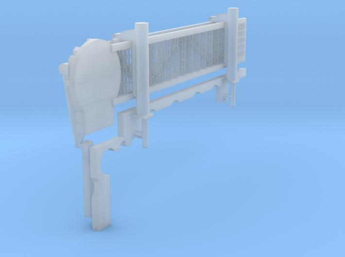 1:200 Walkway - Starbord - Short 3d printed