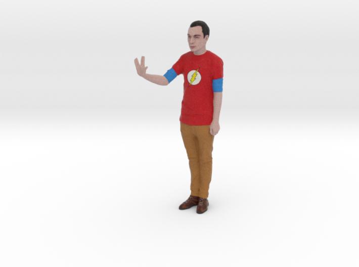 Sheldon Cooper Big Bang Theory Figure 1:9 3d printed