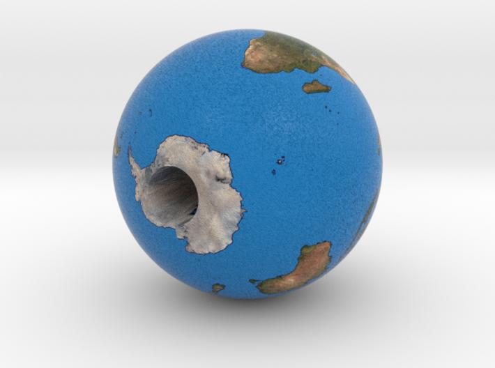 Displayable Earth v2 3d printed