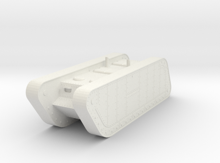 1/100 Trench Tank APC 3d printed