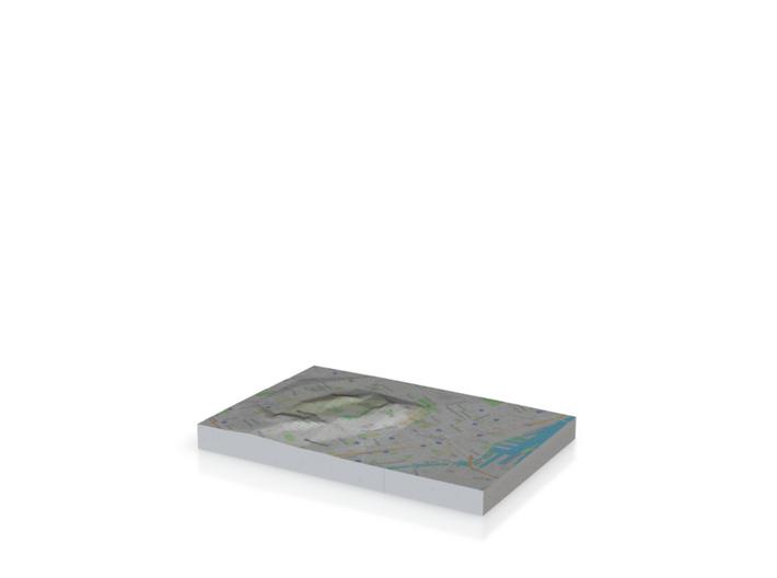 Montreal Map 3d printed