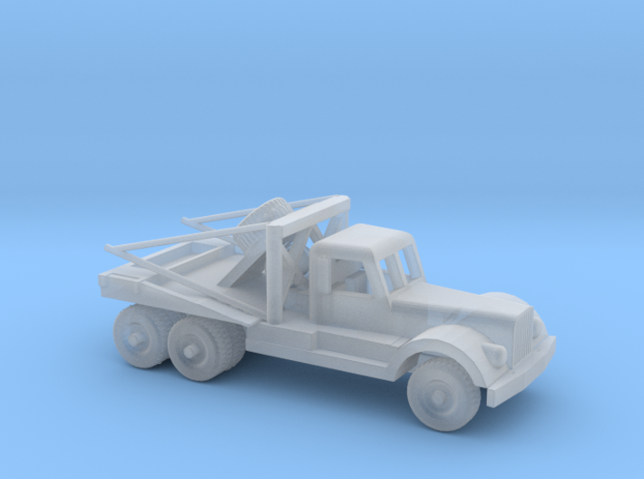 1/87 Scale Diamond T Wrecker 3d printed