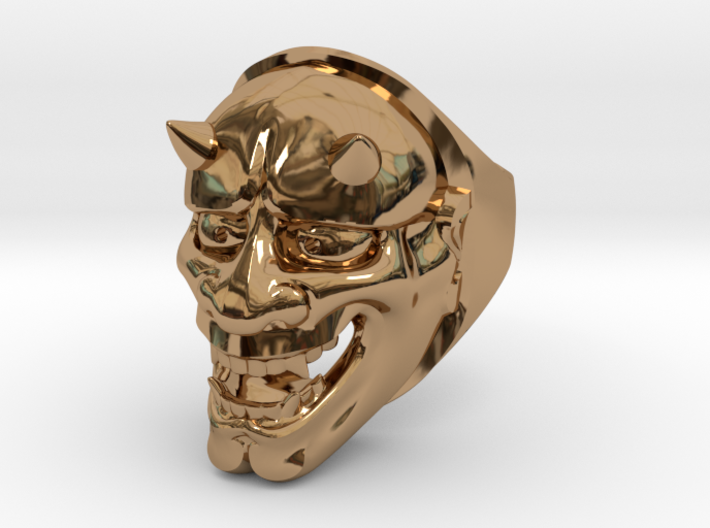 Oni Ring 3d printed