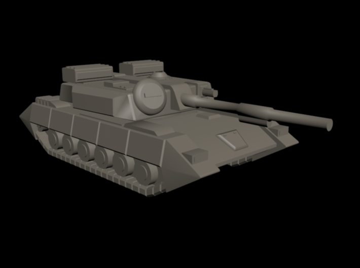 UEDF Main Battle Tank 3d printed 3DS Max quick render