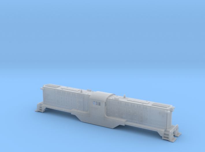 Baldwin DT6-6-2000 Shell Only N Scale 1:160 3d printed