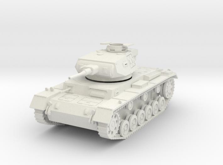 PV156E Pzkw IIIG Medium Tank (1/30) 3d printed