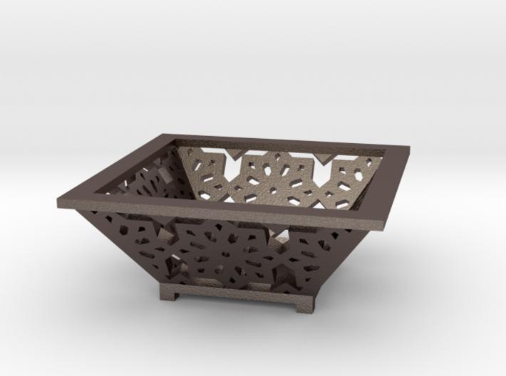 Ornate Dish 3d printed