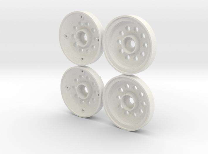 Marui Hunter/Galaxy Front Wheels 3d printed