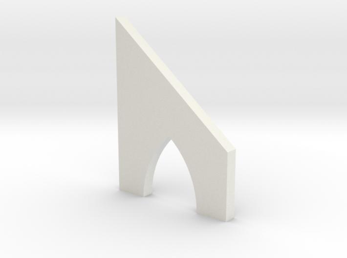 shkr037 - Teil 37 Stützmauerbogen außen breit mit 3d printed