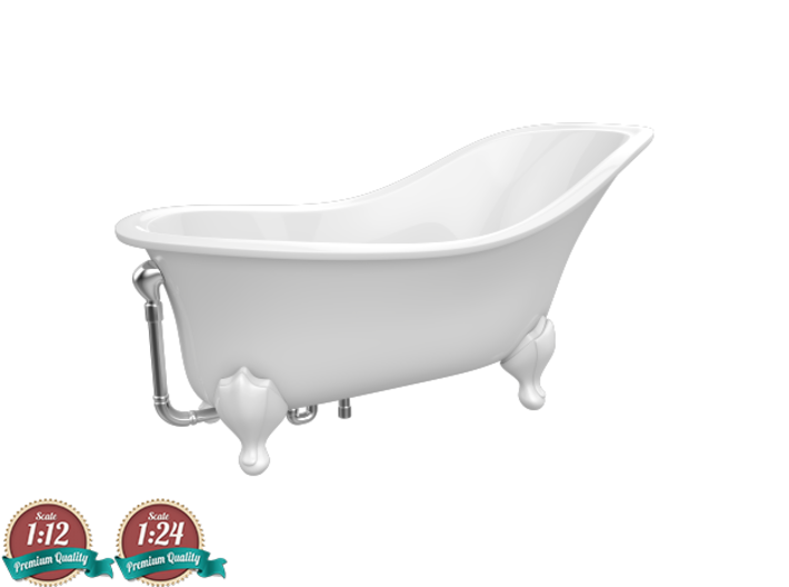 Miniature Drayton Bathtub - Victoria + Albert 3d printed Miniature Drayton Bathtub - Victoria + Albert