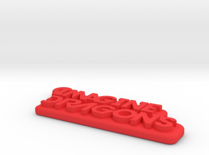 Imagine Dragons Keychain 3d printed