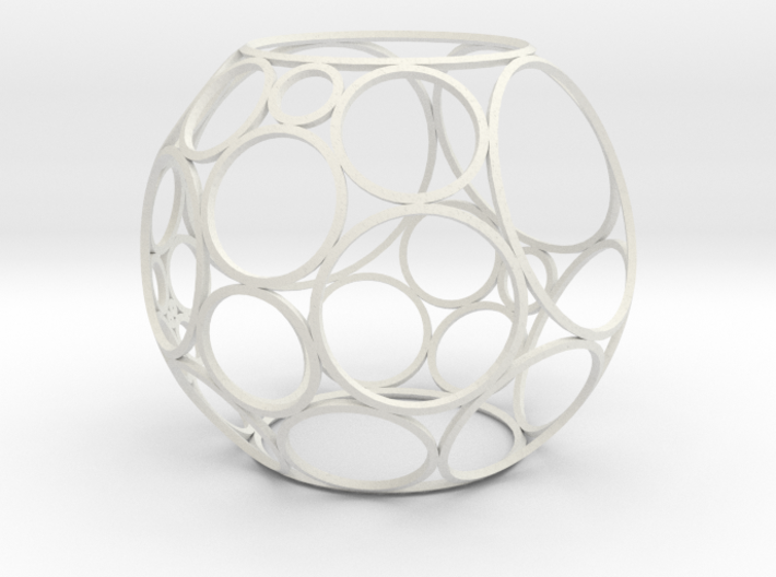 Bowers Circle Packing Ornament - 30 Circles 3d printed