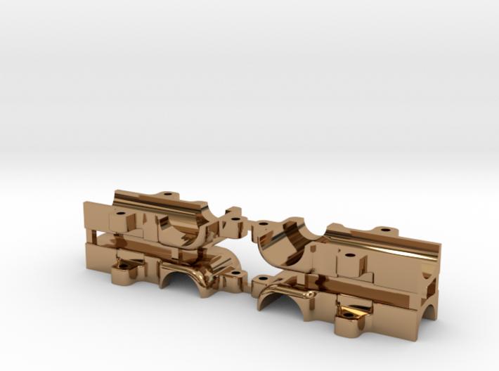 Baggergetriebe 1:87 Messing 3d printed