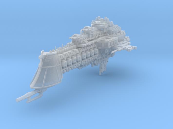 Mercury Battlecruiser 3d printed
