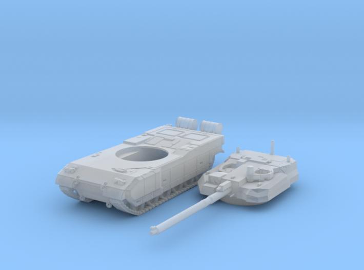 8b08153d132c 1 100 French Leclerc Main Battle Tank 3d printed 1 100 French Leclerc Main
