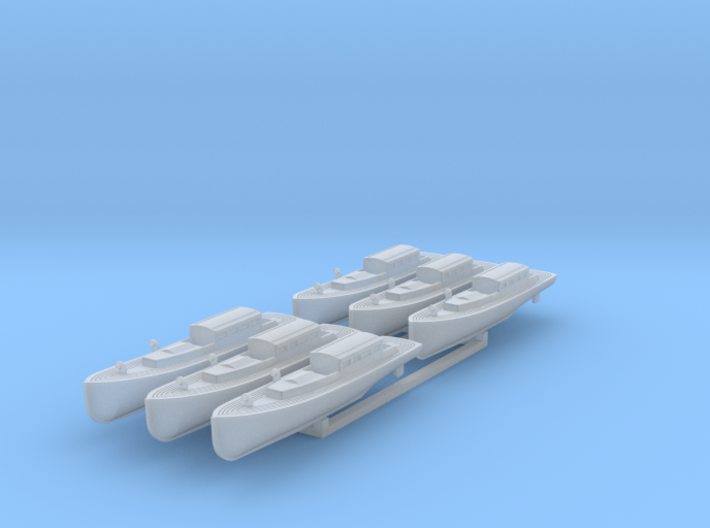 US Navy 40ft motor boat - admirals barge 1/350 3d printed