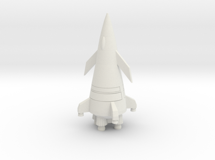 Flying Rocket 3d printed