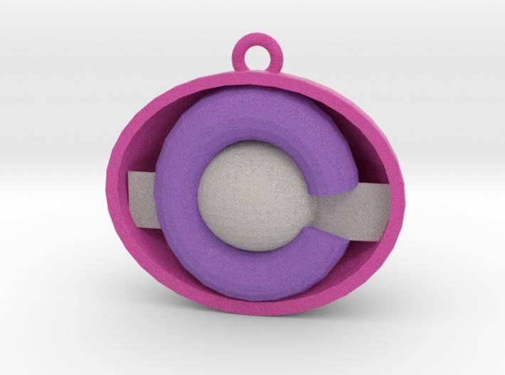 colorado ornament pink 3d printed