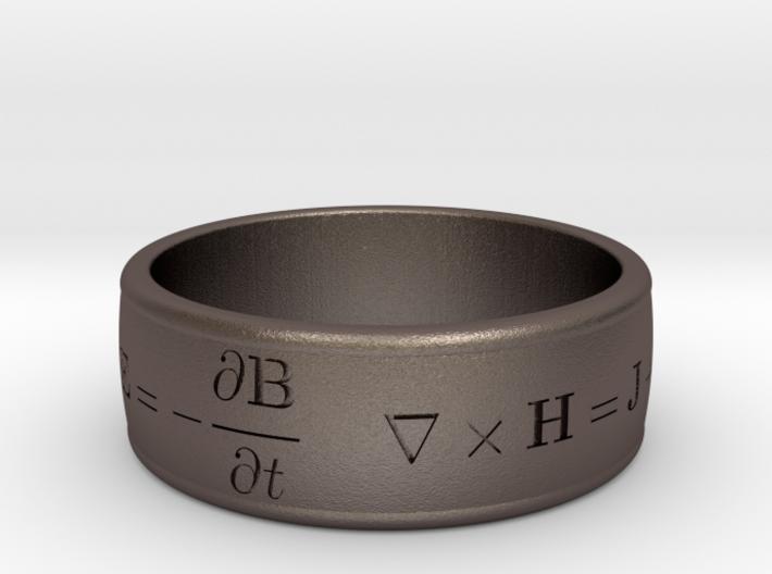 James Clerk Maxwell Ring 3d printed