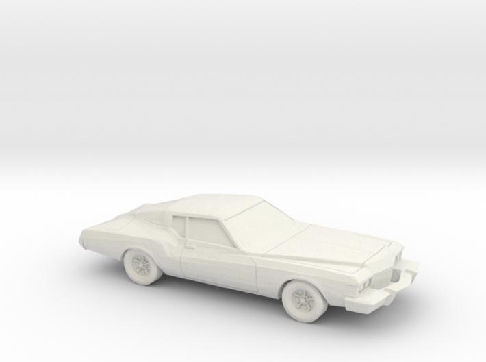1-87 1973 Buick Riviera 3d printed