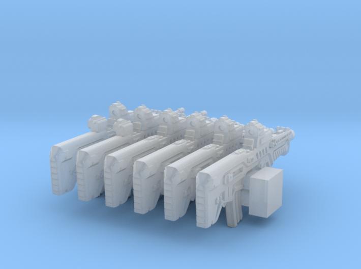 1/56 Bullpup Ctar-Gtar Tavor SET102 3d printed