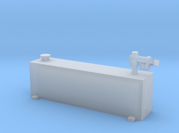 1/64 50 gallon vertical tank 3d printed