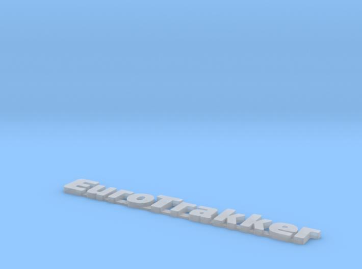 EUROTRAKKER Truck logo 3d printed