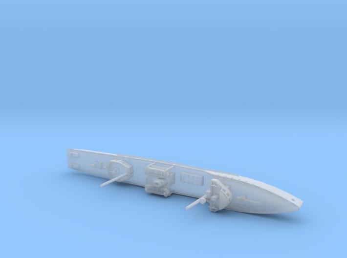 1/1250th scale Brilliant class patrol ship 3d printed