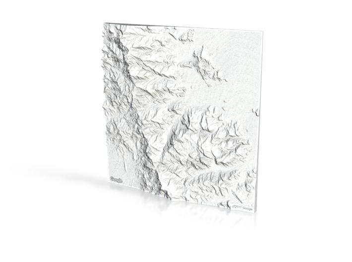 Stockton Hill/ Mount Tipton 3d printed