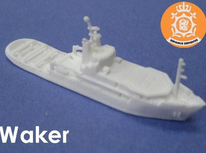 ETV Waker (1:1200) 3d printed 1:1200 scale model of the ETV Waker