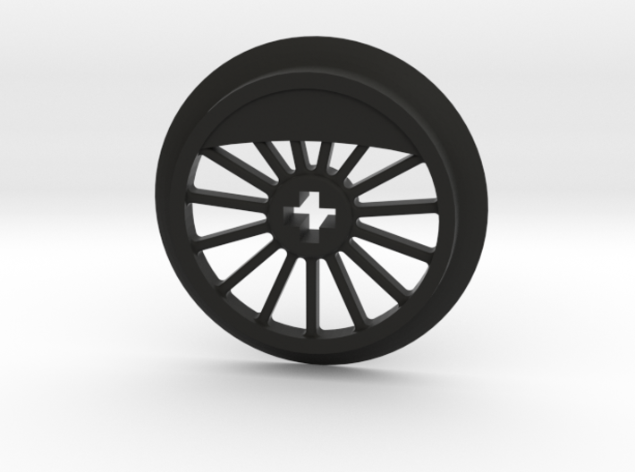 ML Thin Wheel With Counterweight 3d printed