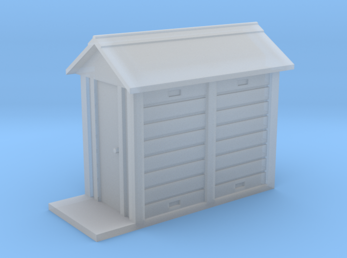 HO NSWGR Signal Relay Hut 3d printed