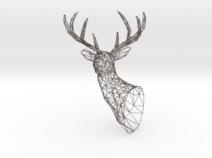 Wireframe Reindeer 3d printed