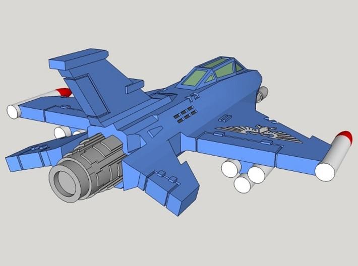 6mm Iron Falcon Interceptors (4pcs) 3d printed