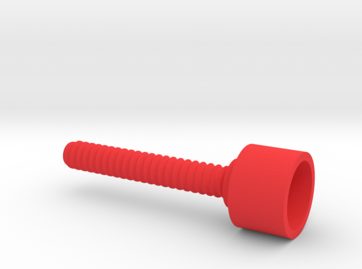 SPC outer threaded screw 3d printed