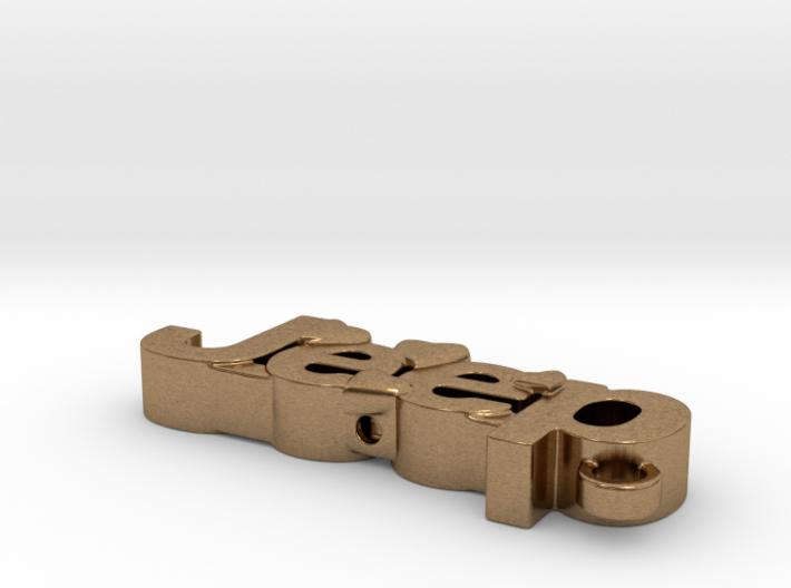 Jeep car keychain 3d printed