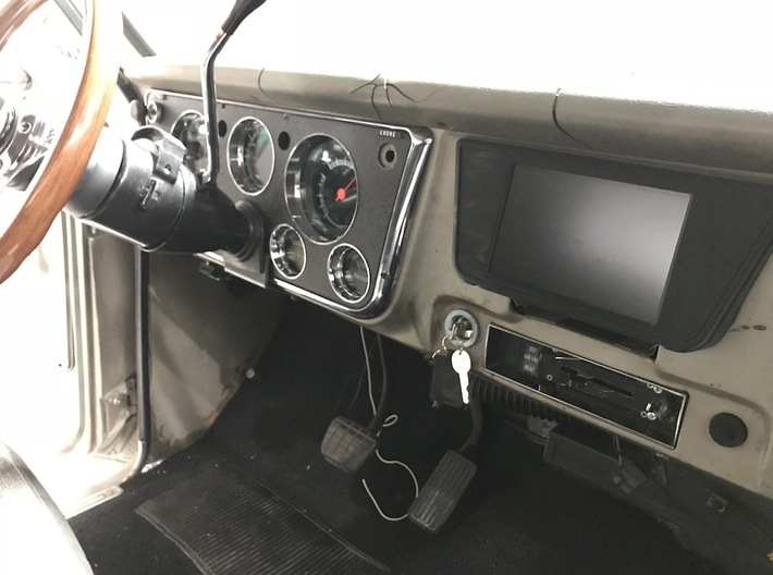 67-72 Chevy C10 Nexus Tablet Dash Mount 3d printed