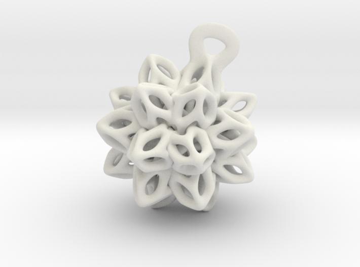 P-Spring flower. 3d printed