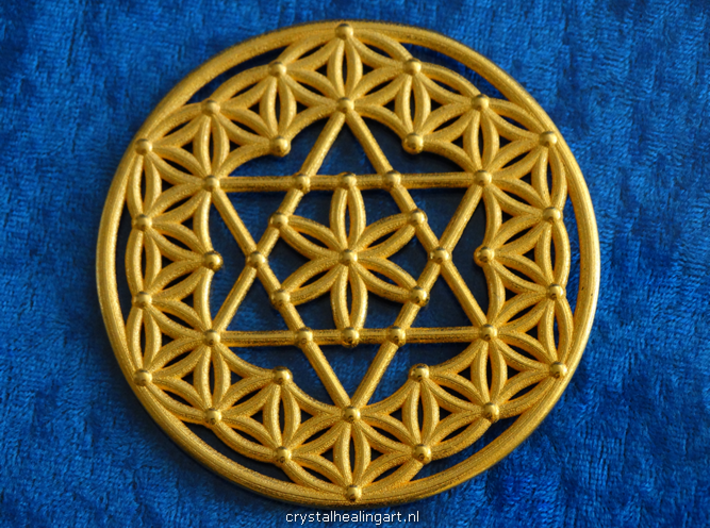 Flower Of Life - Merkaba 3d printed