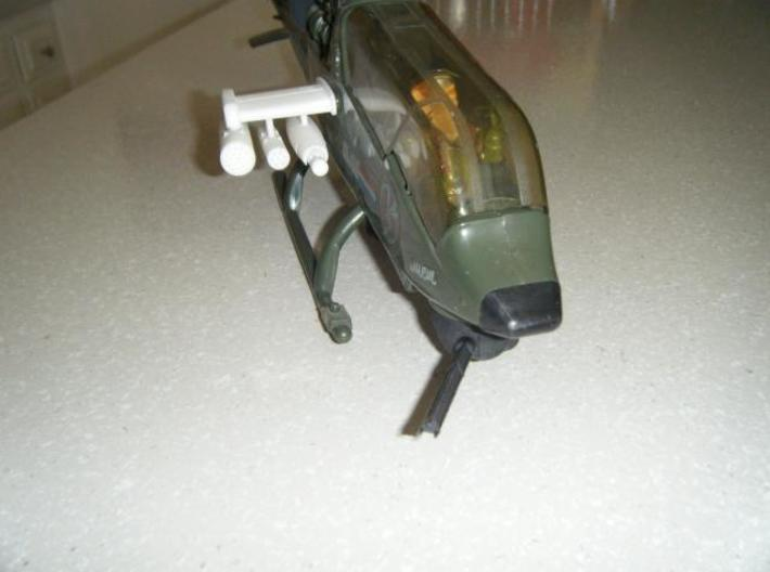 Dragonfly/Locust Upgrade Chin Pod 3d printed Description