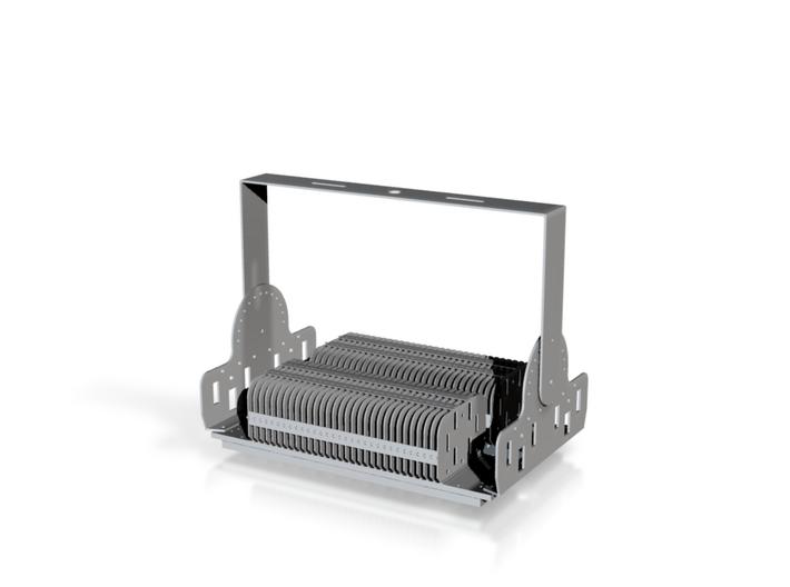 100W 3d printed LED module