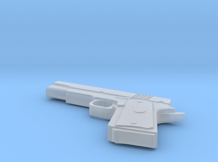 Colt M1911 1:30 scale 3d printed
