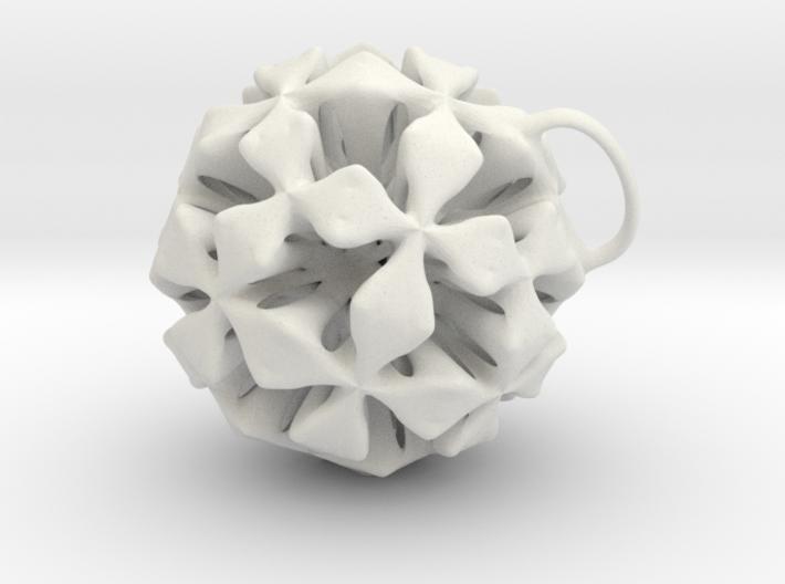 P-four clover jewel 3d printed